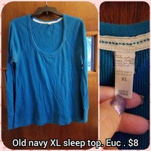 Old navy size Xl sleep top
